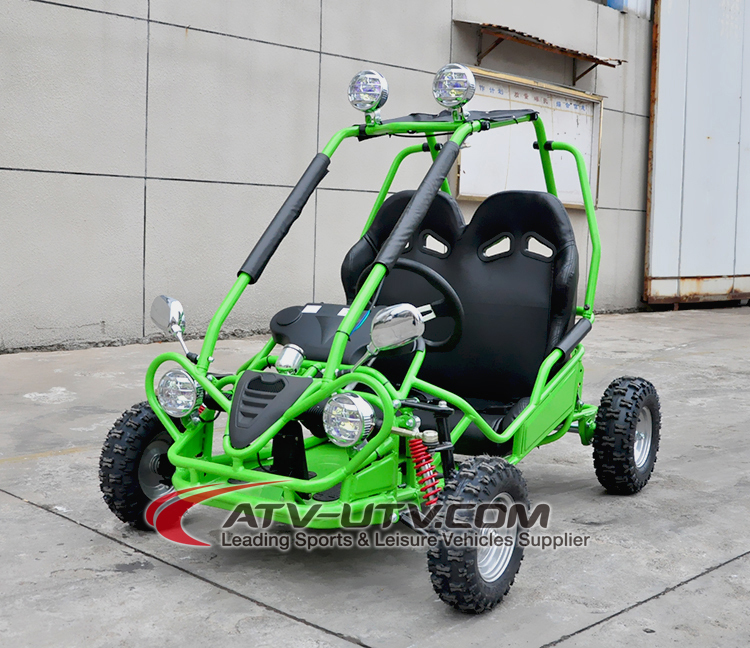 New Upgrade Kids Electric Buggy 500W 36v Go Kart With 6inch Tubeless Smooth Tyre