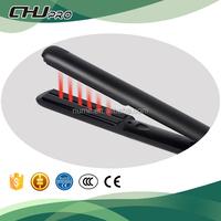 Pro ceramic hair straightener ionic hair flat iron infrared ultrasonic flat iron