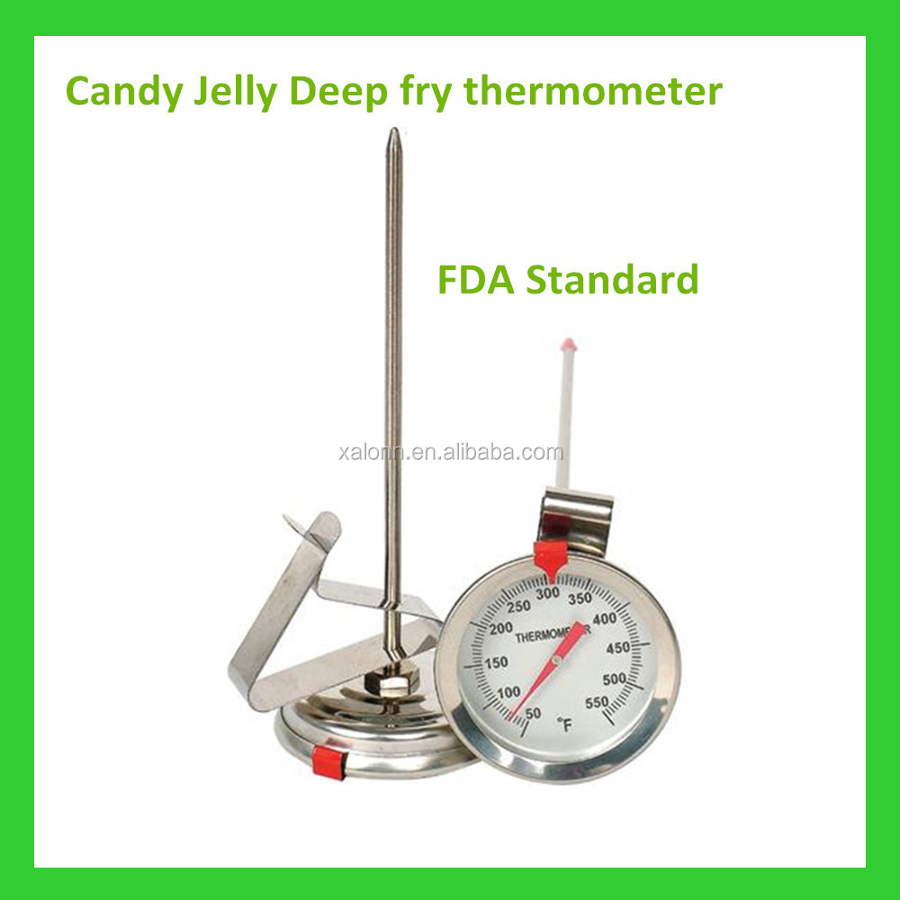 bimetal microwave thermometer deep fry oil thermometer for kitchen