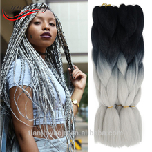 NOT Free Shipping 41 colors available 100g Ombre Braiding Hair extensions Synthetic Yaki Two Tone jumbo hair braid