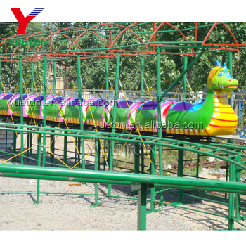 Cheap Price Carnival Game Kids Ride Amusement Park Small Kiddie Backyard Mini Indoor Dinosaur Roller Coaster For Sale