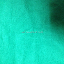 65% poly 35% cotton ring spinning virgin yarn knit 3 thread fleece fabric