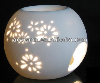 Fragrance Diffuser Ceramic,Decorative Oil Lamp,Essential Oil ...
