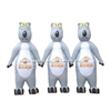 Outdoor advertising inflatable three little bear moving carton on sale