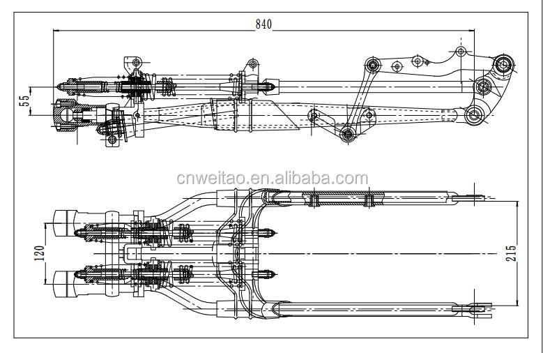 harley rake parts diagram