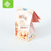 Eco friendly for bread packing paper bags with logo