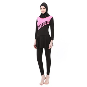 Customized Own Design Young Girls Swimwear Muslim Women Swimwear
