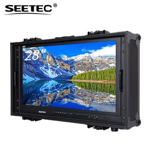 "28"" monitor connectivity Hot selling Broadcast Director Monitor ultra wide 4k monitor with HDMI and SDI"