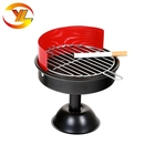 Hot Sale Modern Design Fancy Bbq Grill Iron Ashtray With Print