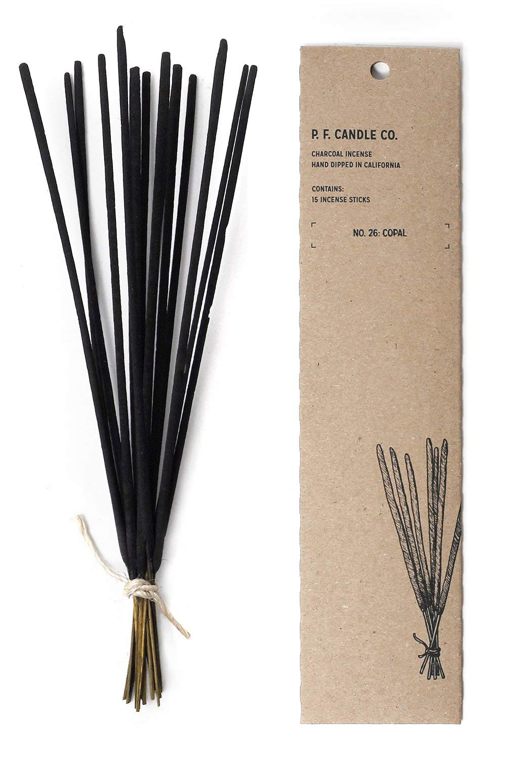 P.F. Candle Co. - No. 26: Copal Incense (2-Pack)