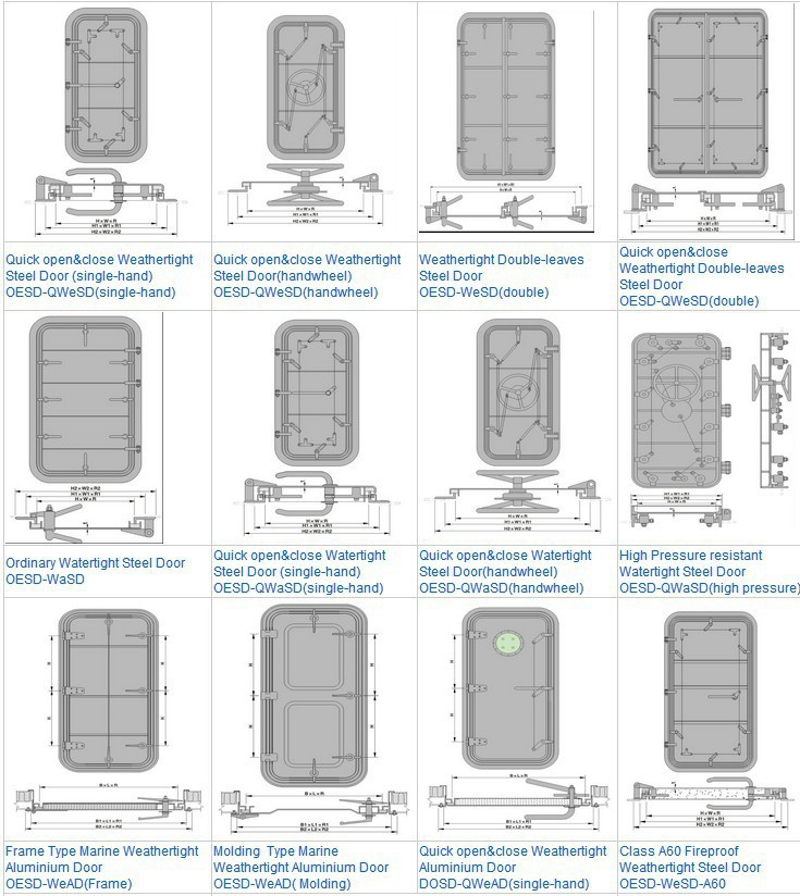 Steel Marine Watertight Door For Ships Buy Watertight