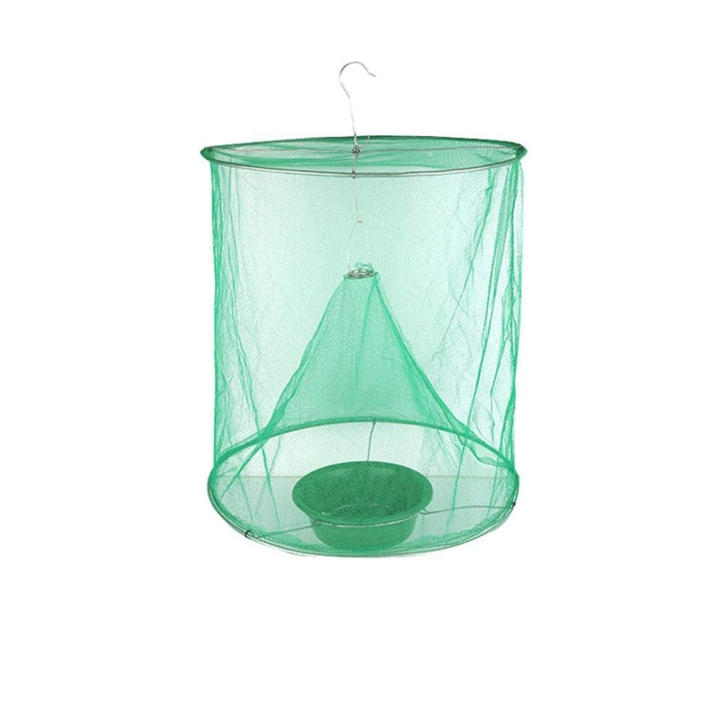 Vincent&July Vinjeely The Ultimate Red Drosophila Fly Trap Device Top Catcher Ourdoor Garden Fly Wasp Insect Trapping 2835cm