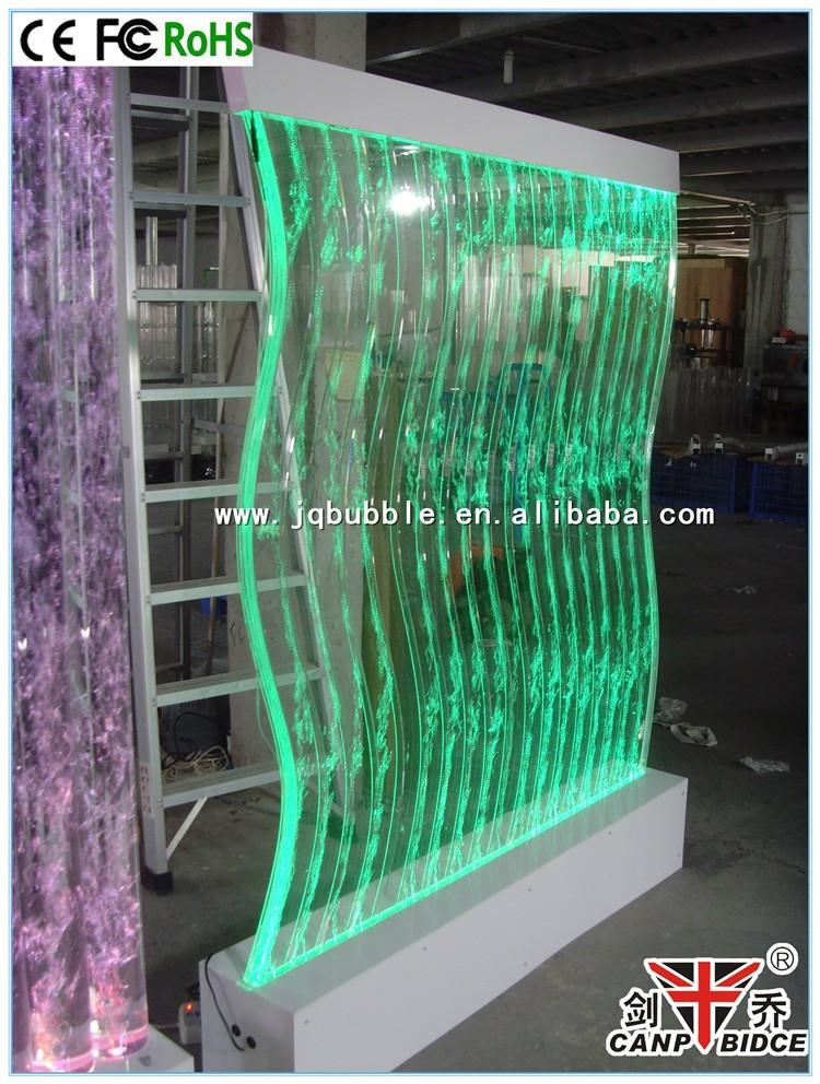 caf decoracin interior fuentes de agua burbuja pared divisor
