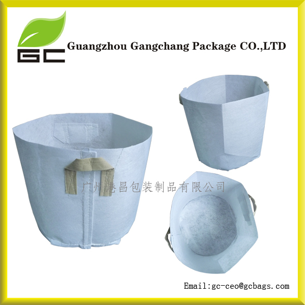 Available Non woven hanging planter grow bag in stock