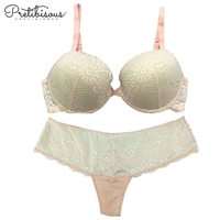 Hot Sale Underwear Photos White Lace Ladies Sexy Net Bra Sets