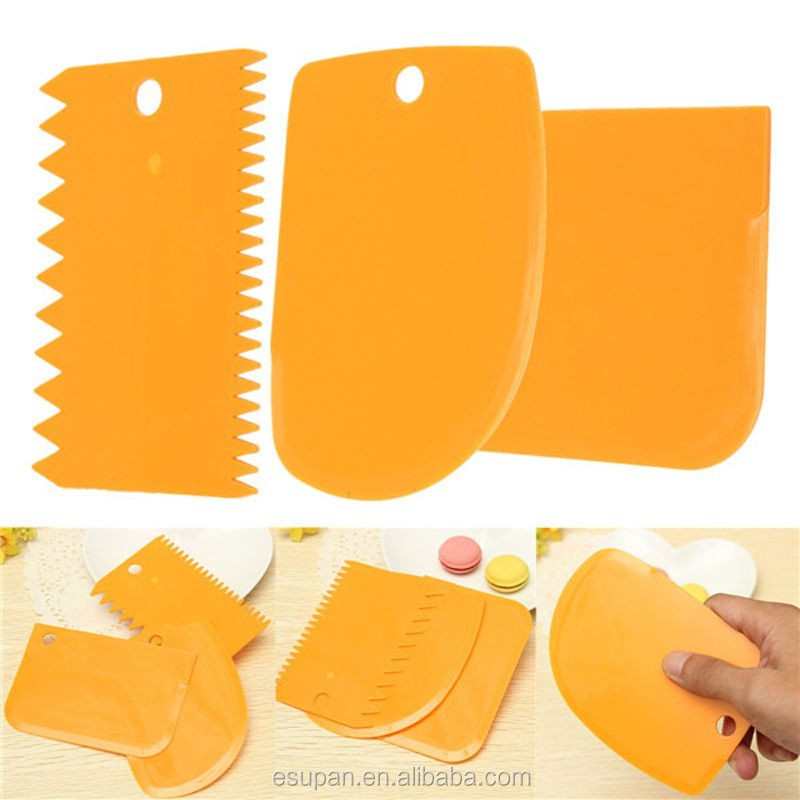 High Quality Dough Pasty Cake Scraper Plastic Dough Cutter Cake Decorating Tool Buy High Quality Dough Pasty Cake Scraper Plastic Dough