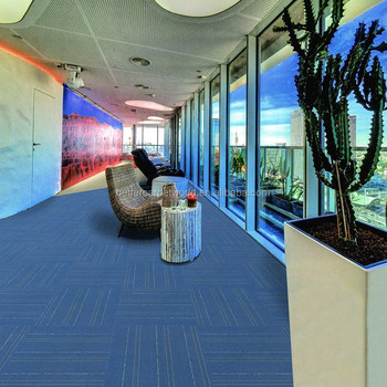 Office Removable Soundproof Modular Pp Nylon Carpet Tiles With Factory Price