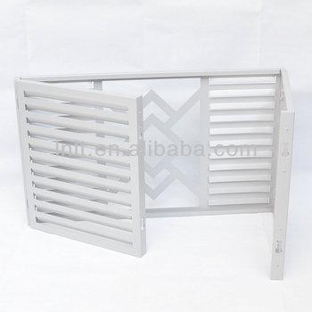 Decorative Wall Covering Panels Aluminum Window Louver