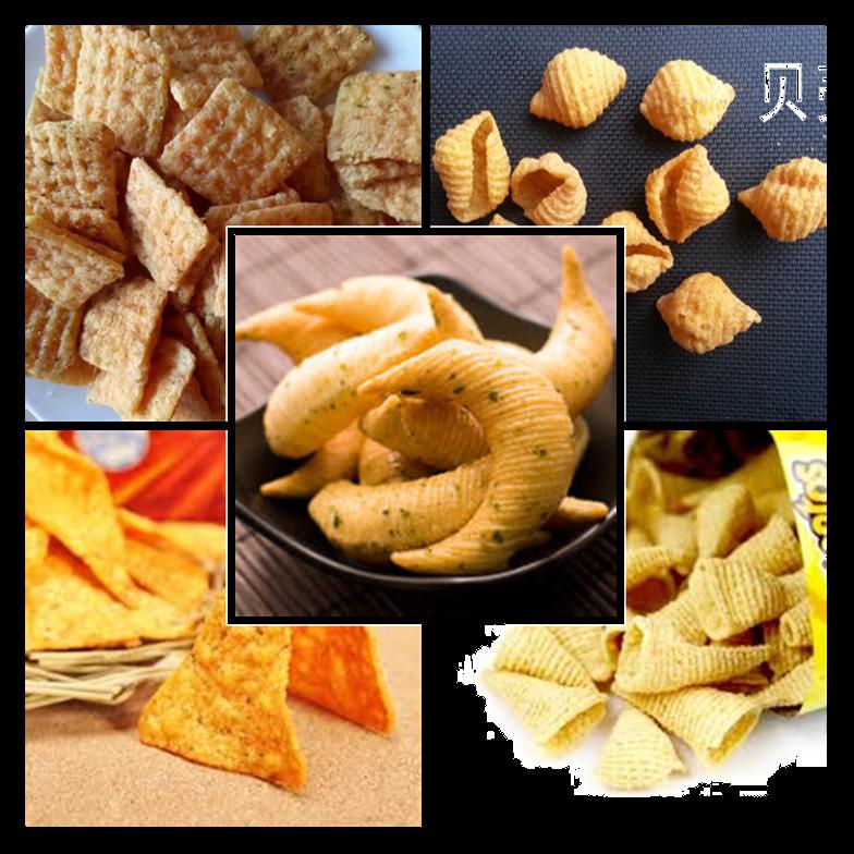 ماكينة صنع رقائق التورتيلا الذرة nacho doritos المسمار المزدوج