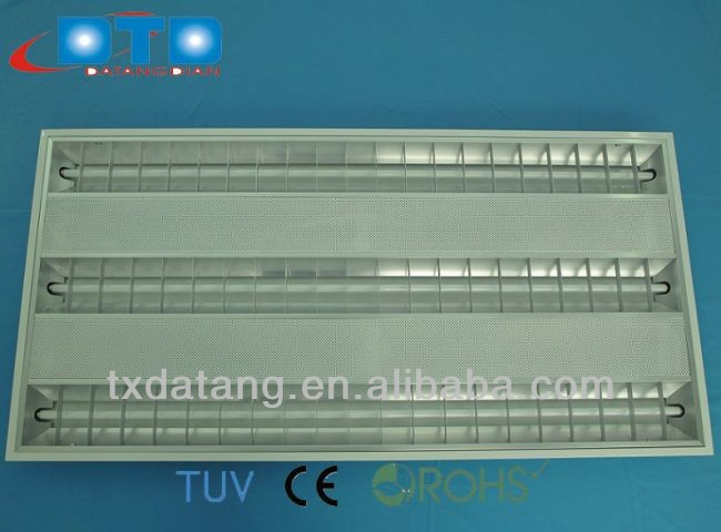 3x14w 3x24w 3x28w 3x54w T5 Fluorescent Embedded Grille light