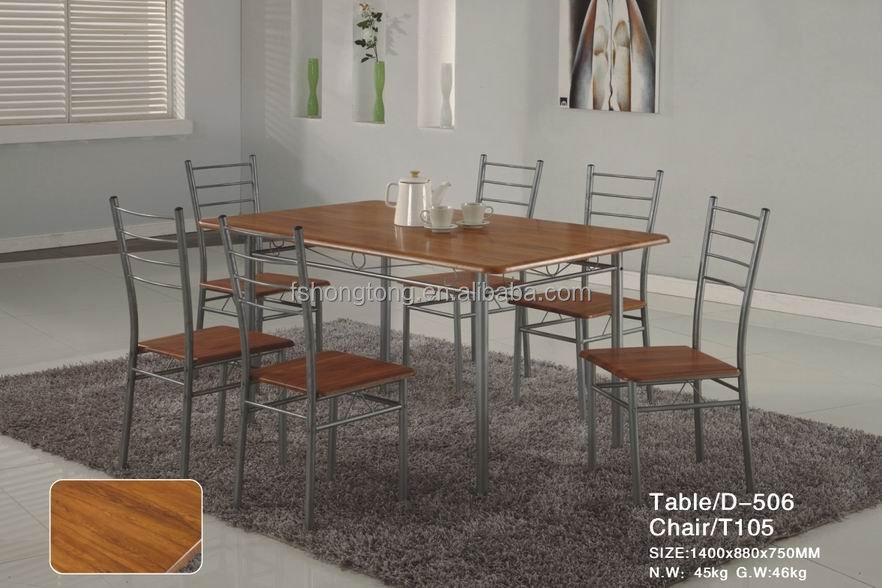 Most Popular Dining Table And Chairs Classic Design Table Sets Wrought Iron Indoor Furniture Buy Cheap Natural Wood Dining Tables Four Or Six Seater
