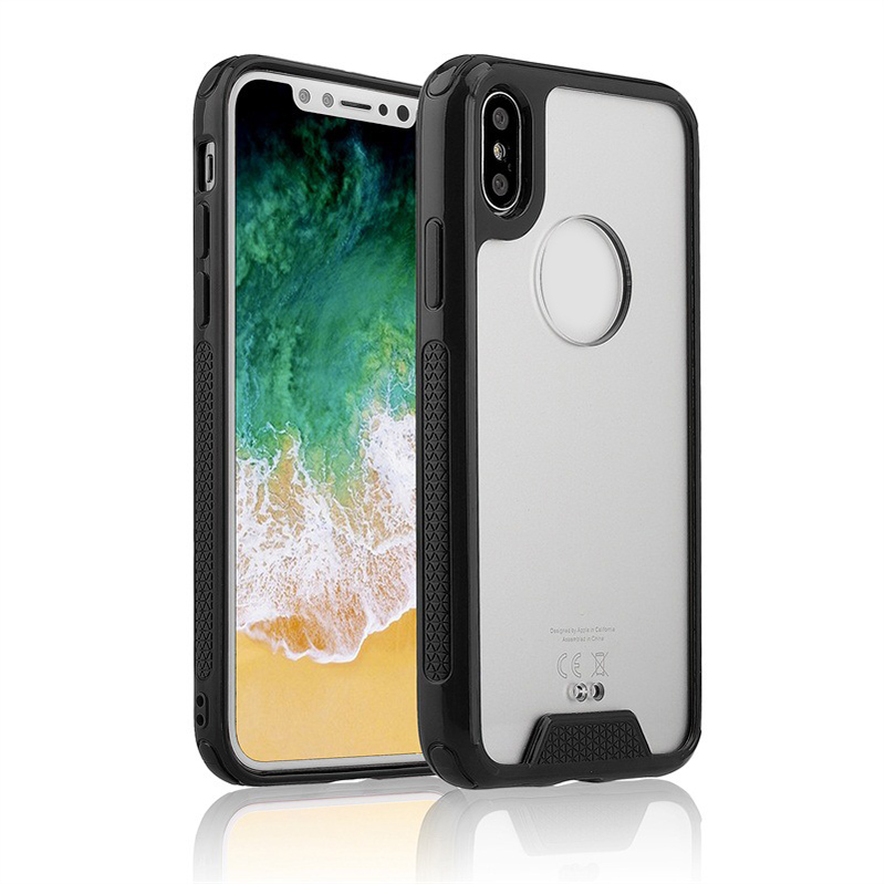 newest 421d3 b2741 Custom Clear Tpu Bumper Acrylic Hard Protective Phone Case For Iphone X  Back Cover Case - Buy Tpu Bumper Acrylic Case,Acrylic Phone Case,Custom  Clear ...