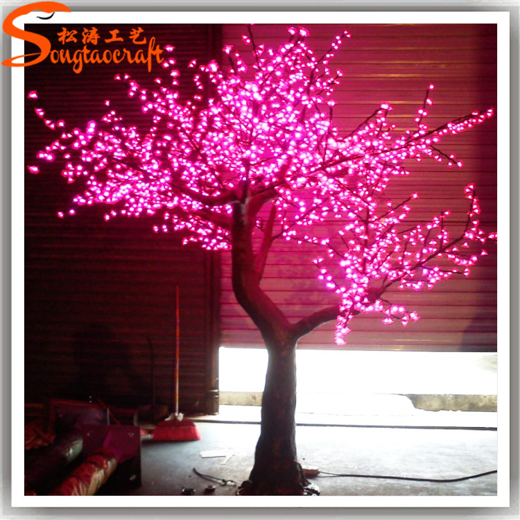 Artificial Led Lighted Tree For Decoration