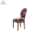 China manufacturer indoor furniture chair wooden dining chair with fabric seat