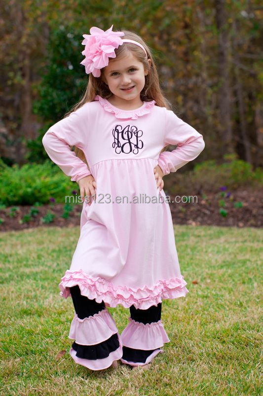 New Spring Hot Sale Kids Girls Giggle Moon Remake Outfits Vintage Floral Ruffle  Dress Toddler Girl 31cd508b73aa