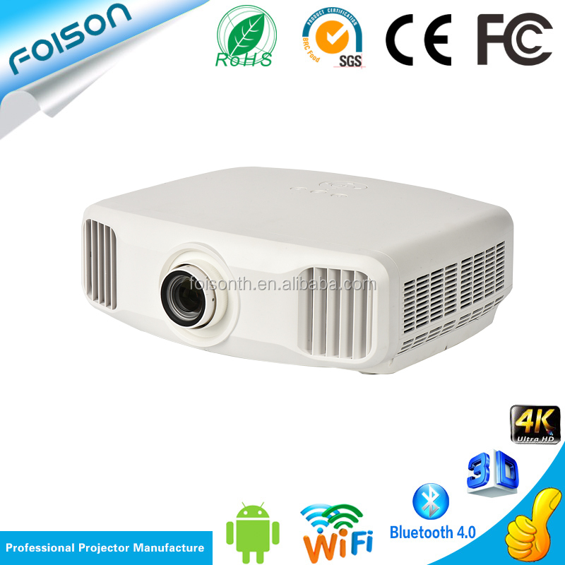 Portable full HD 4k projector 7000 lumens office use projector high bright LED projector with remote control