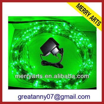 china wholesale outside noma christmas lights green led christmas light and lighting factory sale