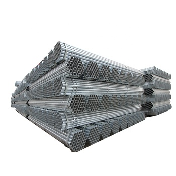 Pre galvanized steel pipe size zinc coating fence tube