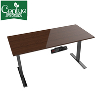 Modern Adjustable Height Work Table Computer Home Standing Electric Table For Office