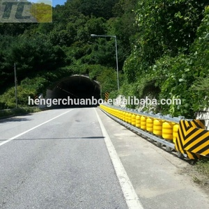 Hot sale Protect safety roller barrier highway guardrail