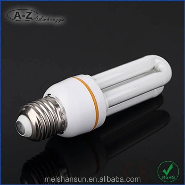 The low price 2u 20w DC pc and glass cfl