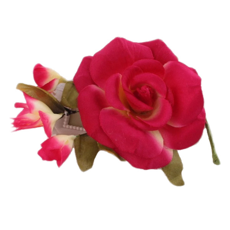 Top Sale Bsci Certificate Popular Artificial Silk Flower Corsage For Wedding