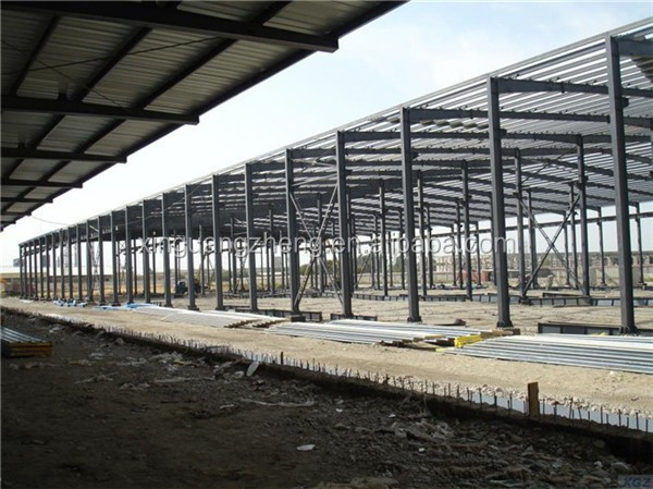 metal cladding light eco-friendly structure steel warehouse