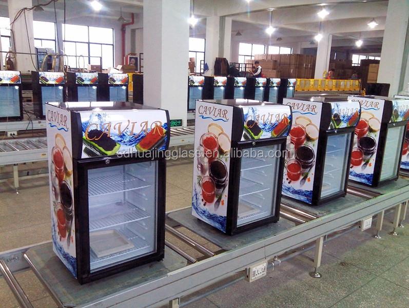 Commercial Mini Refrigerator Glass Door Coowor