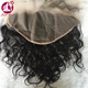 New arrival best grade virgin brazilian hair natural wave 13x6 lace frontal closure transparent lace frontal
