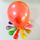 hot selling light small metallic colors helium balloons for advertising