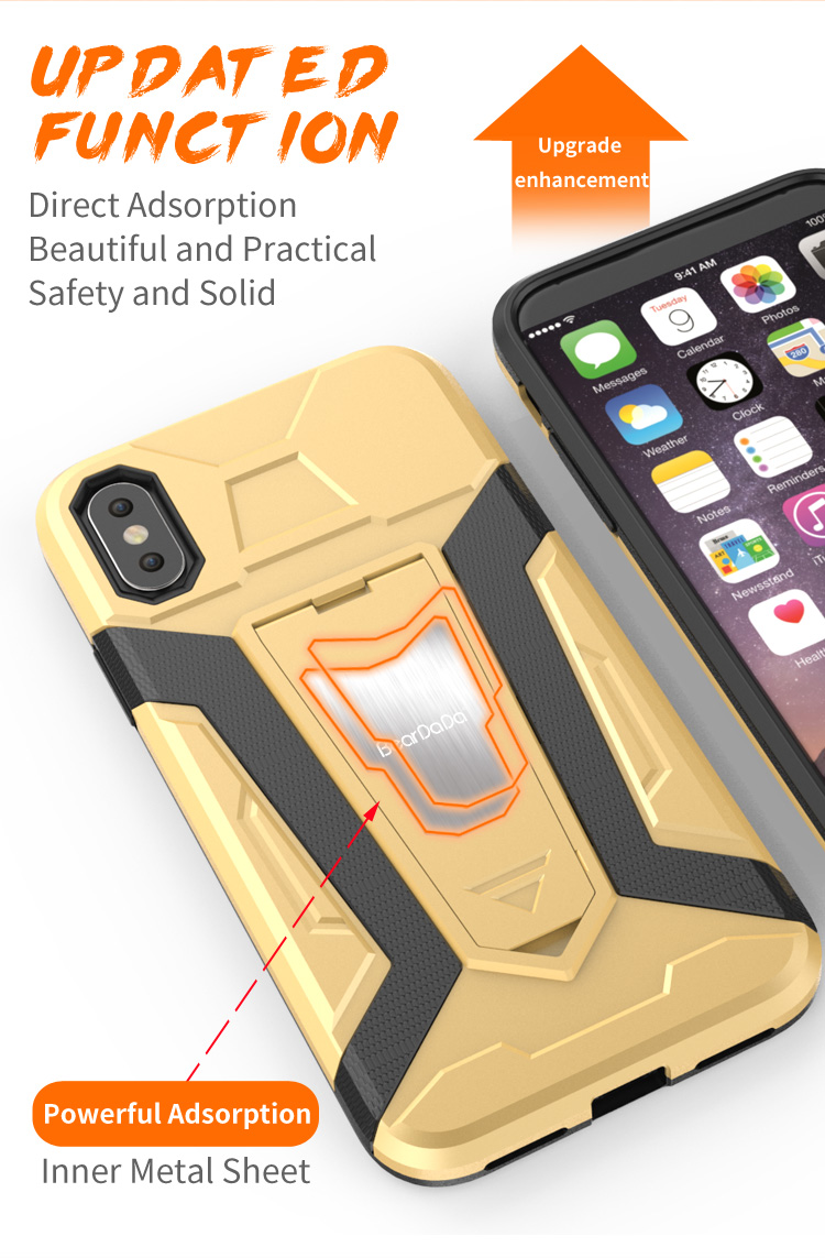 Best Praise mobile phone cover for iphone x edition hybrid case,tpu pc for iphone 8 cases in bulk