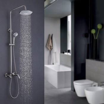 Chrom Badezimmer Badewanne Regendusche Kopf Dusche Wasserhahn Mischbatterie Buy Regendusche Kopf Bad Dusche Wasserhahn Set Dusche Mischbatterie Product On Alibaba Com