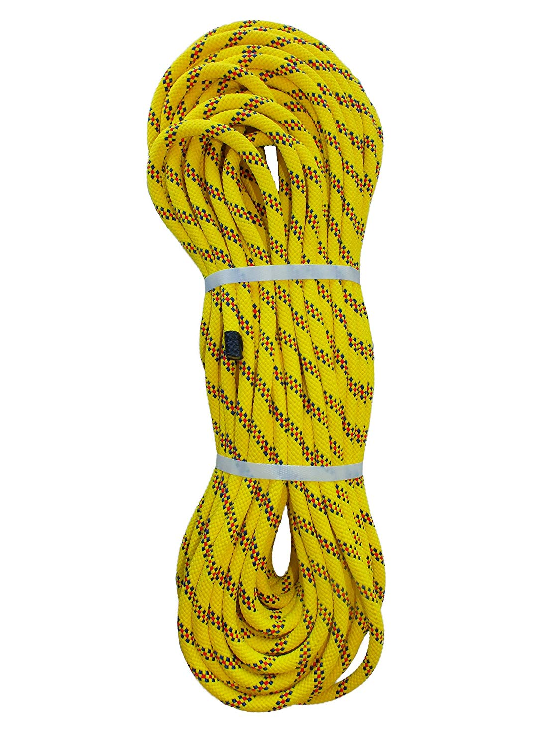 Pelican Rope Multifilament Polypropylene Rope (3/8 in – 7/16 in) – Water Rescue Line, Lightweight, Buoyant, High Visibility, Floating Line – Several Sizes & Lengths (120 ft – 200 ft)