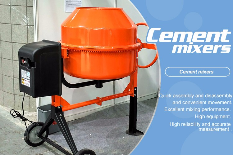 Used Small Cement Mixers : China factory wholesale supplier electric cheap mini