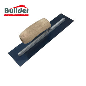 Wooden Finishing Handle Stainless Flooring Float