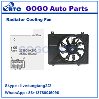 12v DC CAR Radiator A/C Cooling Fan Motor for HYUNDAI OEM 25380-0X300 25380-0X000