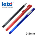 Leto GP-2501 fine point 0.5mm smooth writing ball pen with metal clip gel pens