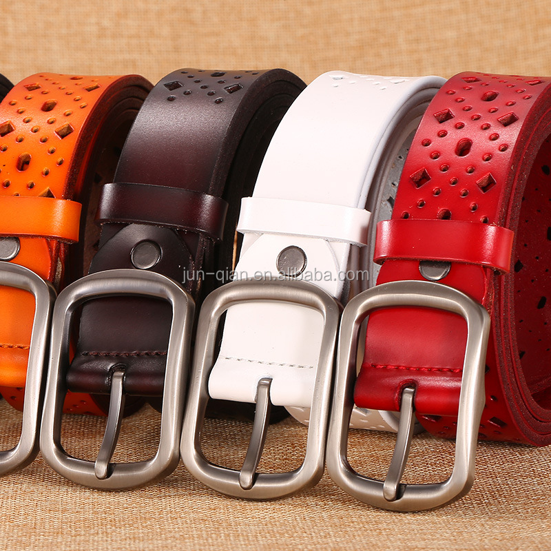 colourful decorative belts for women factory oem women belt fashion big ladies belts for wholesale