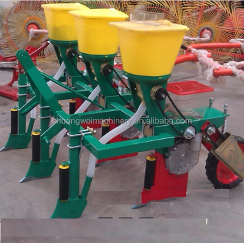 Tractor Mounted 3 Rows Corn Planter For Sale Maize Planting Machine