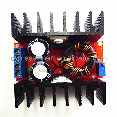 100W-150W dc dc step up adjustable power supply modules 12V/24V 10-32V to 12-35 Voltage Regulator Boost Charger Car Power Supply